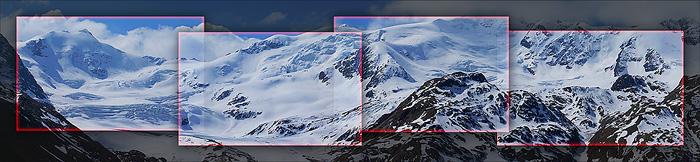 Ghiacciaio dei Forni - Composizione Panoramica
