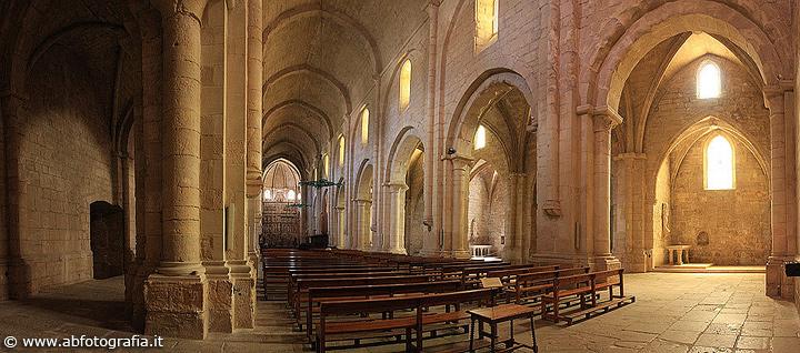 Monastero di Santa Maria di Poblet (Spagna) - Panoramica