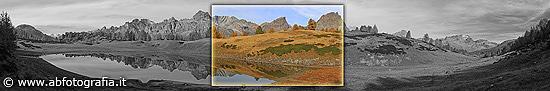 Laghi di Sangiatto - Esposizione Foto panoramica