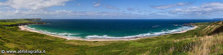 White Park Bay - Panoramica