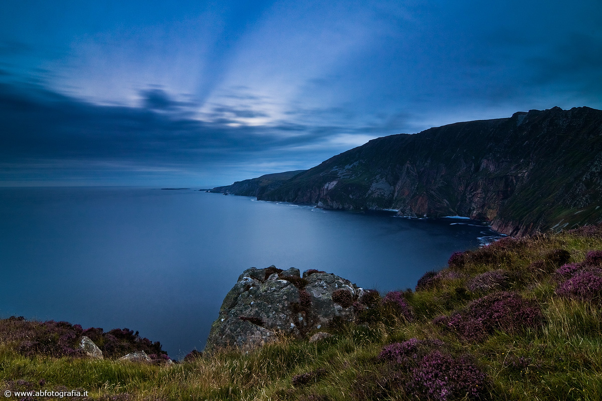 Crepuscolo alle Slieve League, Donegal - Irlanda