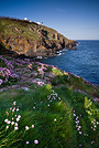 Vista da Lizard Point, Lizard Peninsula, Cornwall - Inghilterra
